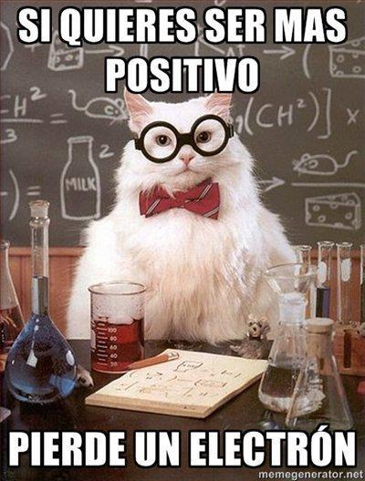 si quieres ser positivo