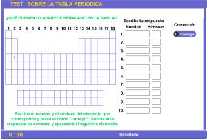 Bloque ii elementos y compuestos tabla peridical fsica y a continuacin puedes comprobar si sabes la posicin de los elementos en la tabla peridica urtaz Image collections