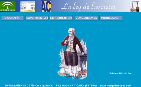 LEY LAVOISIER
