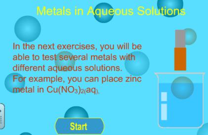 metales en disolución